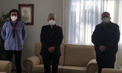 Reunión co Bispo de Tui-Vigo